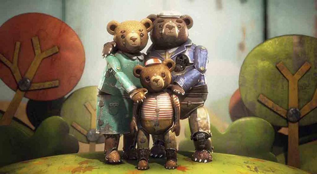 Історія ведмедя